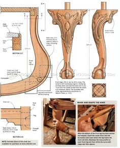 Queen Anne Side Chair Plans - Furniture Plans and Projects - Woodwork, Woodworking, Woodworking Plans, Woodworking Projects Fine Woodworking, Intarsia Woodworking, Woodworking Joints, Woodworking Patterns, Woodworking Workshop, Woodworking Techniques, Woodworking Videos, Woodworking Furniture, Woodworking Crafts
