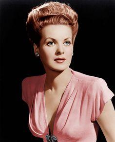 Maureen Ohara. 1946