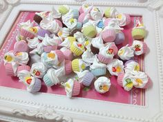 Miniature Food Cup Cake  - 20pcs  from  SweetieTiny by DaWanda.com