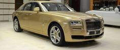 Ghost Oasis Edition - The Most Exclusive Rolls-Royce in Abu Dhabi
