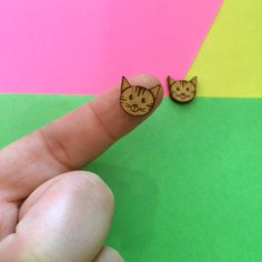 Hey, I found this really awesome Etsy listing at https://www.etsy.com/listing/225151327/tabby-cats-laser-cut-earring-supplies