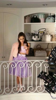 Ariana e il suo guardaroba