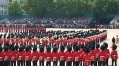 Trooping the Colour   16 June 2012