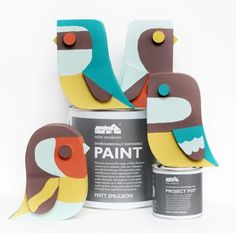 Individually hand-made and painted with Mini Moderns environmentally responsible paints
