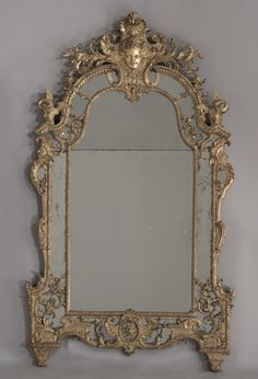 Pier Mirror, French, ca. 1715.