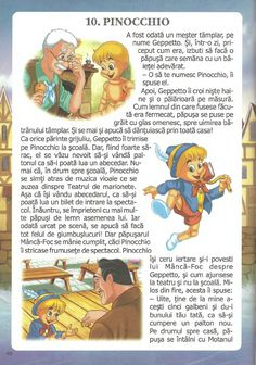 52 de povesti pentru copii.pdf Pinocchio, My Memory, Kids Education, Preschool Activities, 2 In, Baby Room, Winnie The Pooh, Disney Characters, Fictional Characters