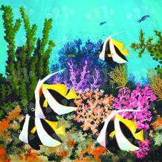 Coral garden in island of Yanggefo  Indonesia  Raja by ArtsOcean