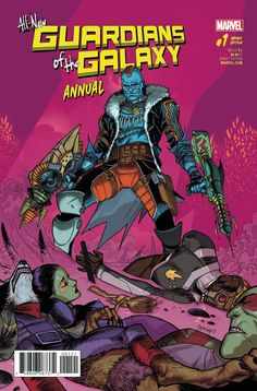 All New Guardians of the Galaxy Annual #1 Variant