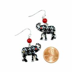 Are you a fan?  Check out these super cute Elephant Earrings!
