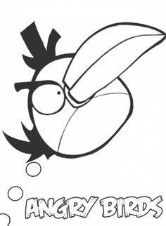 Angry Birds Coloring Pages ~ Free Printable Coloring Pages - Cool Coloring Pagesj Use for angry birds verb