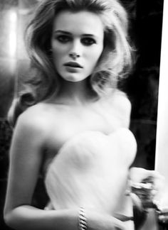 Edita Vilkeviciute by Mario Testino In Secret Passion!