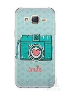 Capa Capinha Samsung J7 Câmera Fotográfica - SmartCases - Acessórios para celulares e tablets :)