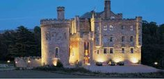 Dalhousie Castle, Edinburgh, Scotland. The Ramsay clan ancestoral castle. As a Ramsay, I hope to get there some day...