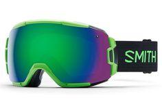 Smith - Vice Reactor Goggles, Green Sol-X Mirror Lenses
