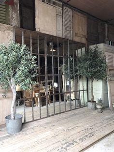 French Architectural Industrial Mirrored Window Frames photo 12