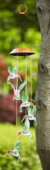 Solar Hummingbird Mobile  Price $24.95