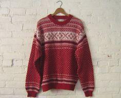 Vintage L.L. Bean Nordic SweaterSO CUTE WANT IT