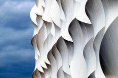 detail of the London 2012 Olympic basketball arena by Wilkinson Eyre Architects ~ temporary architecture.