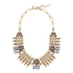 Mixed-metal arrowhead necklace
