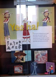 Jessie the Cowgirl display at the National Cowgirl Museum and Hall of Fame in Fort Worth, Texas.