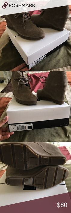 Pascola taupe suede In box Dolce Vita Shoes Wedges