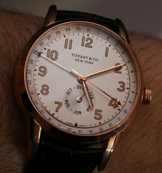 "Tiffany & Co. CT60 Watch Collection Hands-On & Debut For 2015 – by Ariel Adams – see our hands-on images and read our analysis of Tiffany & Co's return to the watch scene now, on aBlogtoWatch – ""For 2015, Tiffany & Co. timepieces return, starting with the CT60 collection of watches which includes various models for both men and women. In the 1990s especially, Tiffany & Co. had some rather amazing as well as reasonably conservative timepieces with their own name on the dial, serving as a…"