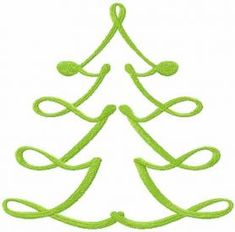 Christmas modern tree free embroidery design 2. Machine embroidery design. www.embroideres.com