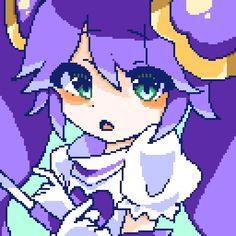 黒リリちゃん - のーにゃ(no-nya)🐌🐌 Cool Pixel Art, Anime Pixel Art, Pixel Drawing, 8 Bit Art, Pix Art, Minecraft Designs, Cute Profile Pictures, Art Reference Poses, Art Tutorials