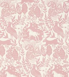 How to Style | Girls Rooms | Westonbirt Fabric by Clarke & Clarke | Jane Clayton