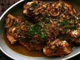 of home chicken merlot with mushrooms chicken merlot with mushrooms ...