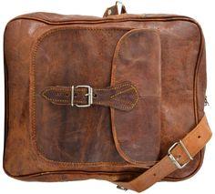 """Praktisch, stylisch, außergewöhnlich, einfach gut! Das ist unsere Umhängetasche """"Andie"""". Die trendige Ledertasche aus Ziegenleder im angesagten Vintage-Look stellt Dir in den Außen- und Innenfächern viel Stauraum zur Verfügung. Vom Collegeblock bis zur Lunchbox findet hier alles seinen Platz - Ledertasche - Umhängetasche - Vintage - Gusti Leder - M21"""