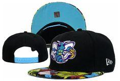 NBA NEW ERA x Charlotte Hornets Snapback Hats Black 218 8816 only US$8.90