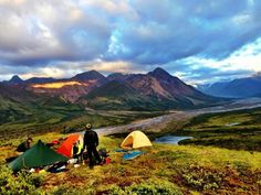 Teklanika River, Denali Wilderness, Alaska - Motion TV