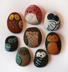Scripture Owl   Prayer Rocks, Scriptures and A Prayer