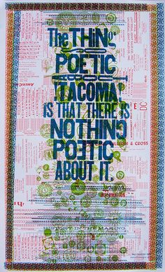 The thing poetic about Tacoma