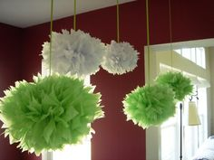 this would be cool.... you hang them over the table