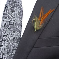 Fly Fishing Boutonniere                                                       …
