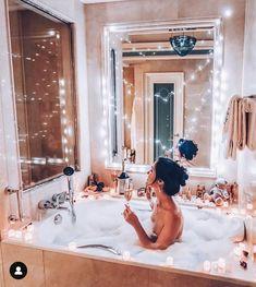 Divas, Summer Vibe, Bathroom Goals, Bubble Bath, Girls Life, Bath Time, Feng Shui, My House, Sweet Home