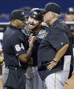 Aug. 27, 2015 — Pirates 2, Marlins 1 (Photo: Associated Press)