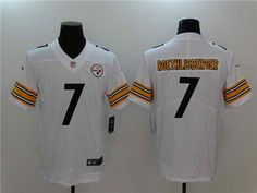 21 Men s Pittsburgh Steelers  7 Ben Roethlisberger Stitched White 2017  Vapor Untouchable NFL Nike Limited Jersey fbac7ee10