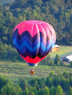 Hot air balloon ride--I have always wanted to do this.  But I am a little scared of heights...