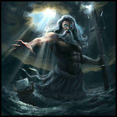 Poseidon: Neptune by Miguel Coimbra