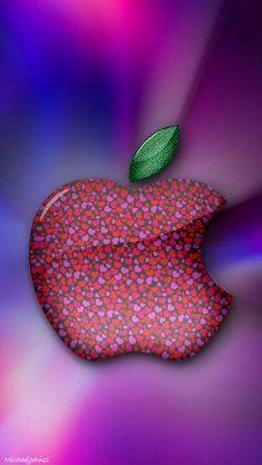 Download Little Hearts Apple 640 x 1136 Wallpapers - 4596495 - Apple Logo Hearts Love Valentine | mobile9