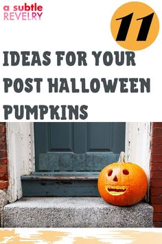 Here are the ideas for your post Halloween pumpkins! Over the years, we have found some fun ways to reuse the pumpkins and extend their lives a bit longer. Here are simple ideas for enjoying your pumpkins even after the trick or treating is done. Check this pin! #postpumpkin #halloweenpumpkin #pumpkinideas Pumpkin Faces, Cute Pumpkin, Halloween Pumpkins, Halloween Diy, Pumpkin Planter, Balloon Backdrop, Love Balloon, Small Pumpkins, Pumpkin Butter