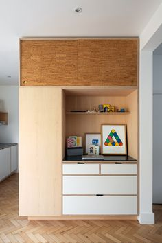 Bespoke Maple Kitchen Workstation By Uncommon Projects