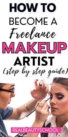 Makeup Artist Career, Becoming A Makeup Artist, Makeup Artist Tips, Makeup Artistry, Online Makeup Courses, Professional Makeup Tips, Makeup Kit Essentials, Bridal Makeup Tips, Learn Makeup