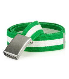 Pánsky zeleno-biely opasok Bracelets, Leather, Jewelry, Fashion, Moda, Jewlery, Jewerly, Fashion Styles, Schmuck
