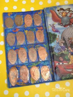 Walt Disney World Pressed Pennies - the cheapest souvenir you'll find at the parks and resort hotels