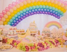 Da mitologia para as festas infantis, os unicórnios estão com tudo! Nesse aniversário, eles são o tema de uma produção delicada e encantadora