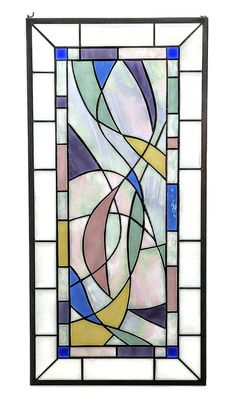 Modern Stained Glass Art by Windsong Glass Studio Modern Stained Glass, Stained Glass Quilt, Stained Glass Door, Stained Glass Designs, Stained Glass Projects, Stained Glass Patterns, Contemporary Stained Glass Panels, Painting On Glass Windows, Mosaic Windows